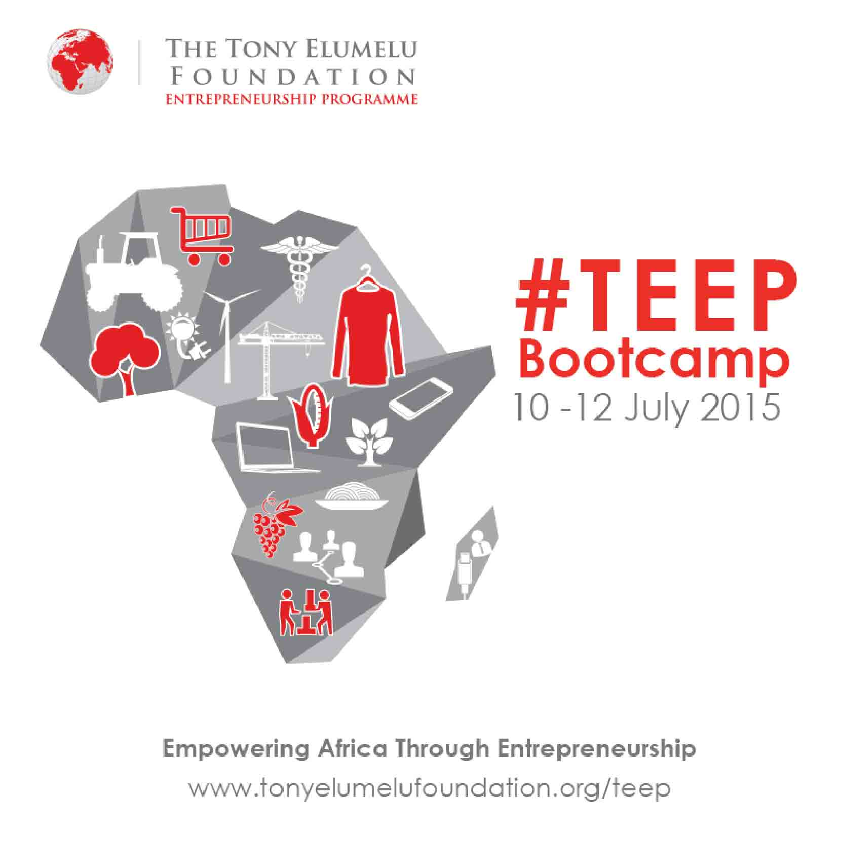 TEEP Bootcamp 2015- What Happens There? - The Tony Elumelu ...