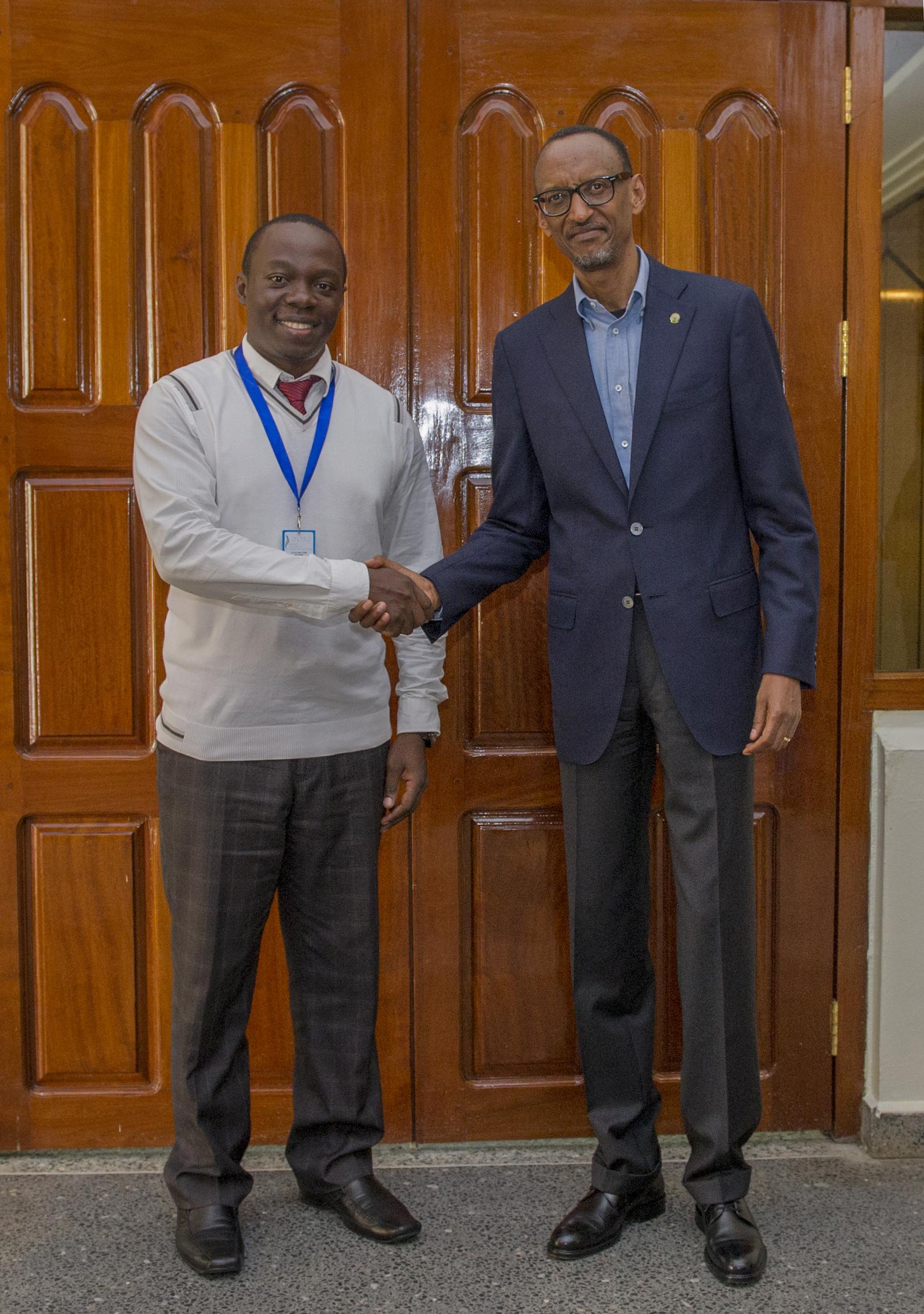 Muhire Louis-Antoine from Rwanda