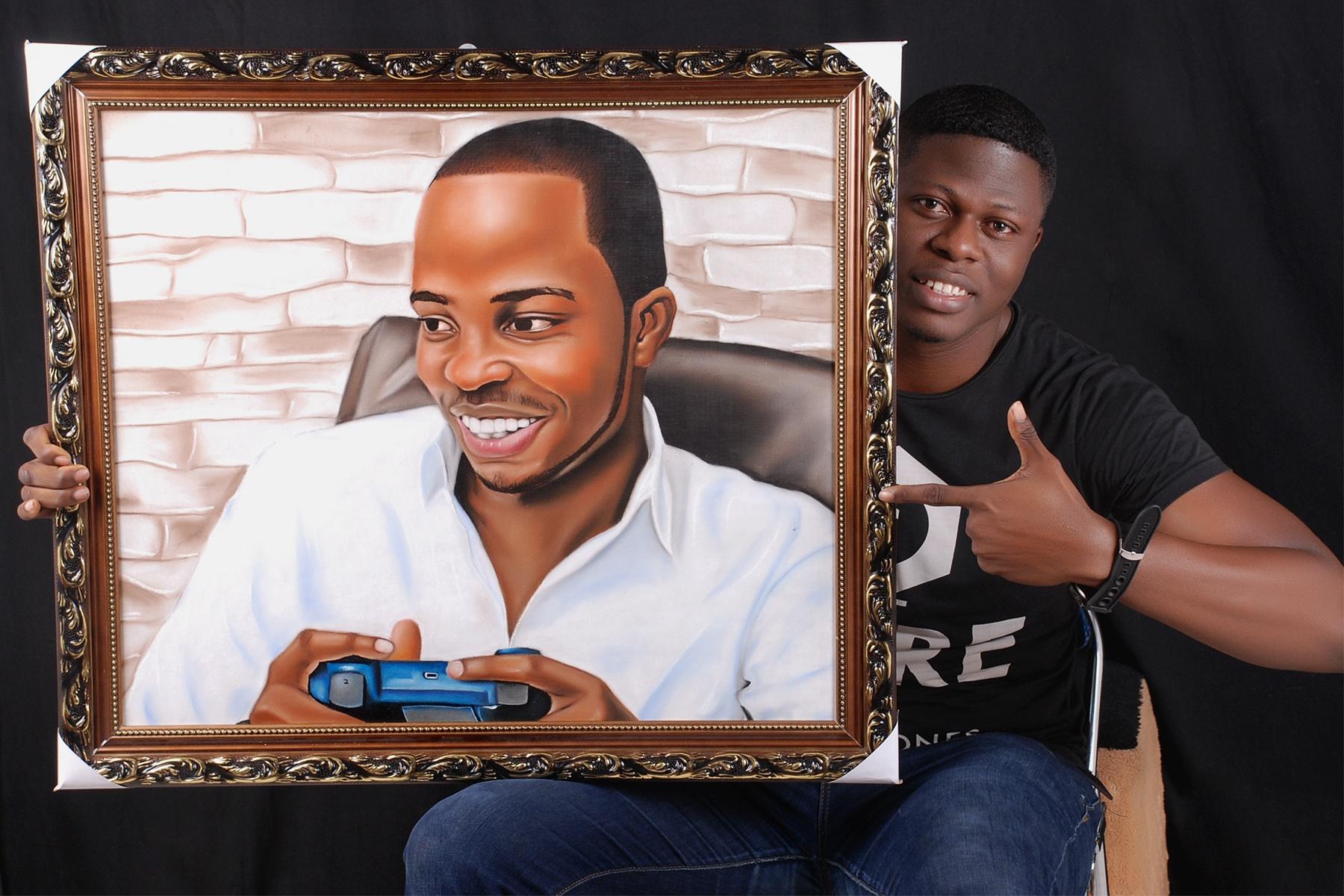 Dr. Samuel, Tony Elumelu Entrepreneur