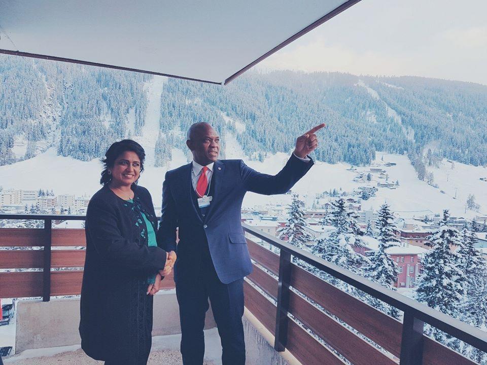 Tony Elumelu at Davos