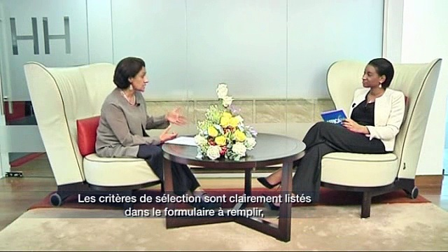 Marie-Angèle Toure of Africa24 Interviews Parminder Vir