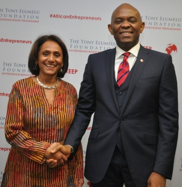Parminder Vir and Tony O. Elumelu